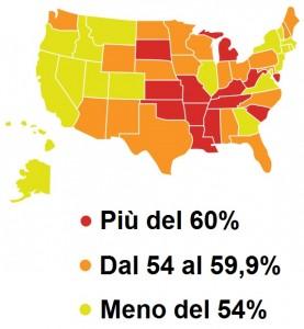 Previsione dell'Obesità negli Stati Uniti nel 2030