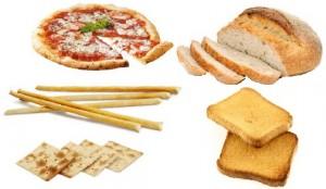 Pane pizza, grissini etc. di frumento, non sono utilizzabili in chi è affetto da Celiachia