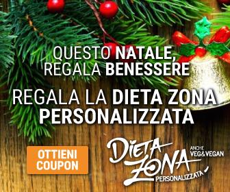 Questo Natale Regala la Dieta Zona Personalizzata
