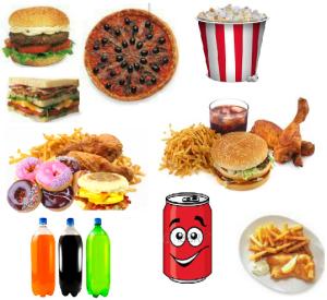 Bibite, alcolici e cibo spazzatura sono i più pericolosi