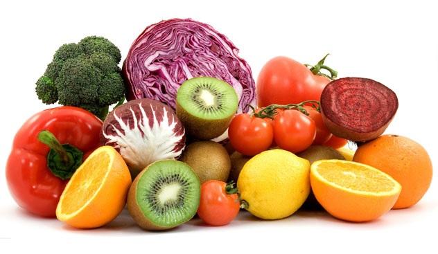 Mangiare i 5 colori gli antiossidanti dieta zona for Frutta online