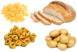 cereali e patate
