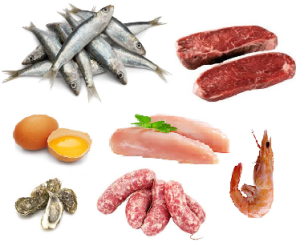 proteine carne e pesce