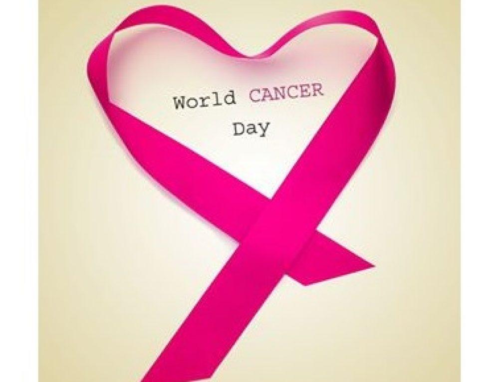 News. 4 febbraio World Cancer Day.