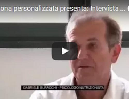 Intervista RTV 38. Cibo, Psiche e Dieta Zona gli argomenti del Nutrizionista Gabriele Buracchi