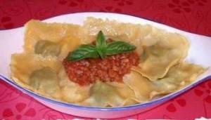Ravioli Maremmani, a base di farina di lupino, un piatto per la Dieta Zona Vegana