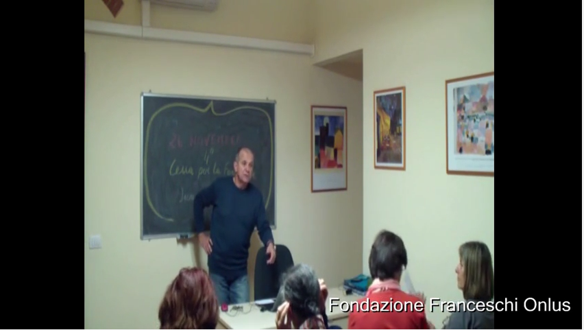 Seminari alla Fondazione Franceschi